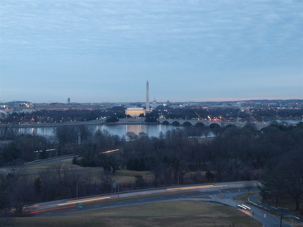 DC at sunrise.