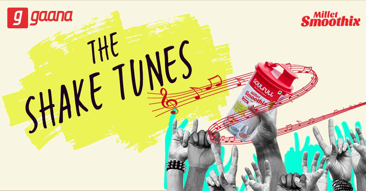 Take a sip of the @SoulfulSmoothix and shake it like never before! Listen to the latest 'Soulful' #ShakeTunes, only on Gaana: http://gaa.na/TheShakeTunes