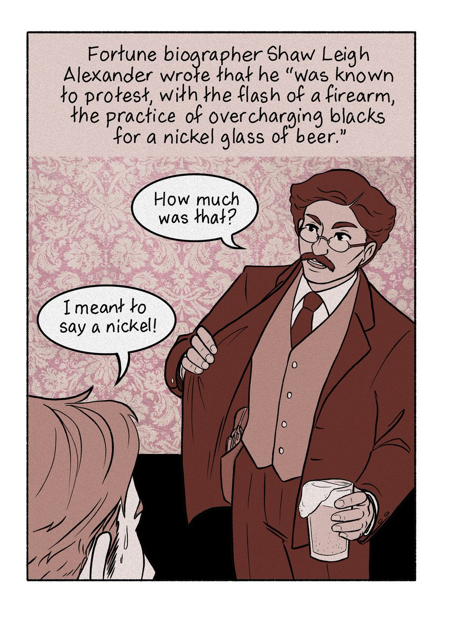 My first comic!!! It&#39;s about T. Thomas Fortune, a largely forgotten black radical who was born into slavery and was a large influence on the more prominent names you hear during black history month, like Du Bois, Garvey, Washington and Wells Barnett  https:// thenib.com/the-black-radi cal-you-ve-never-head-of?t=recent &nbsp; … <br>http://pic.twitter.com/exhqtXkIU8