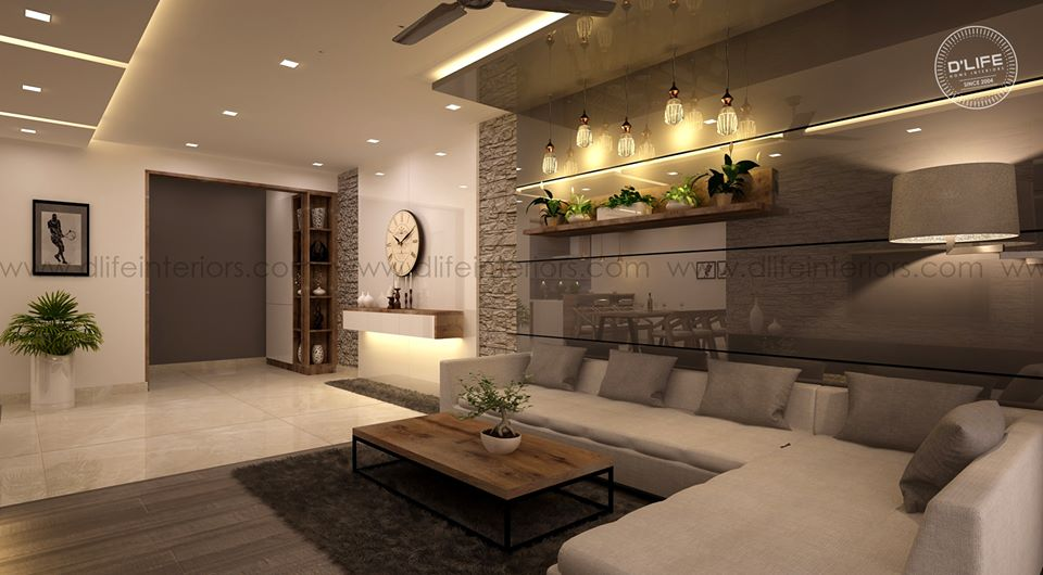 Dlife Home Interiors On Twitter 3d Living Room Views Of