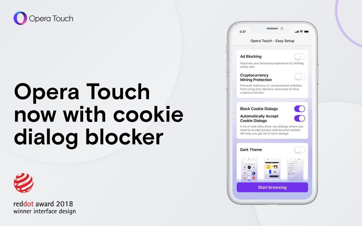 ما هو Opera Touch ! تحميل Opera Touch