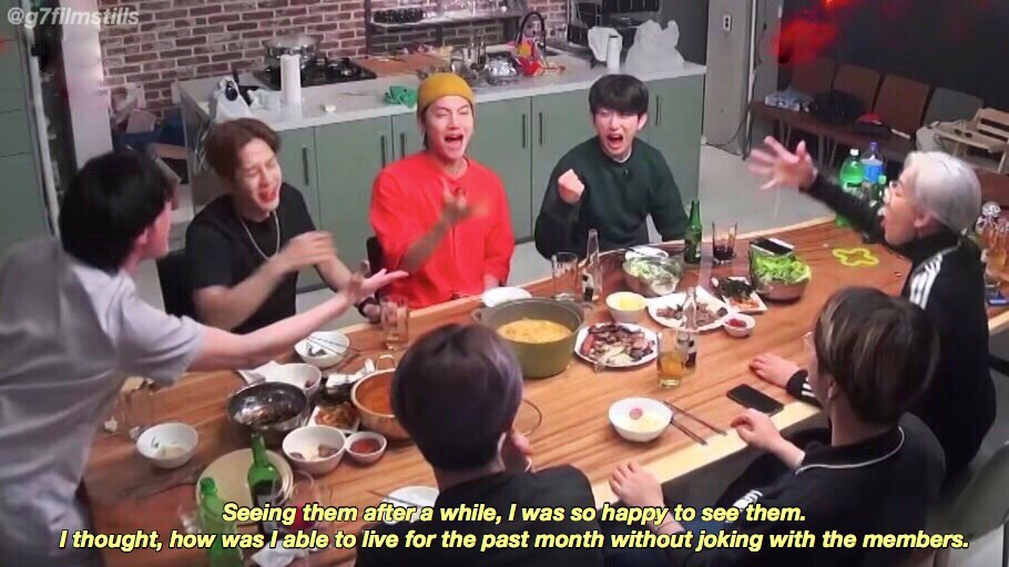 𝒚𝒆𝒍𝒍𝒐𝒘: words by bambam during his vlive (2019)  𝒘𝒉𝒊𝒕𝒆: words by jinyoung from allure magazine (2019) <br>http://pic.twitter.com/5ysQt8WfkP