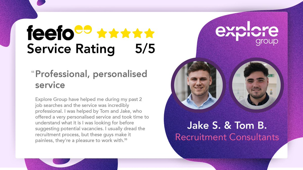 Explore Group 5 star review