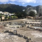 Image for the Tweet beginning: Furnas #volcano fumaroles are right
