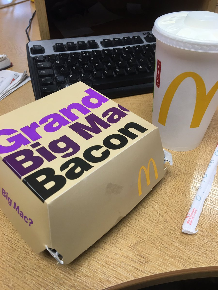 Cheers @McDonaldsUK for helping me start my healthy weekend right
