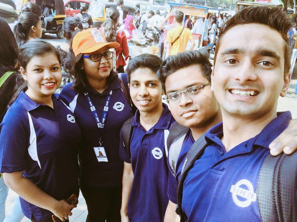 Marketing team on its toes to welcome the new batch # brochure distribution #IIHM pune @Yusuf_IIHM @san_geeta @tamaliihm @SareetK<br>http://pic.twitter.com/J1DJANiNn1