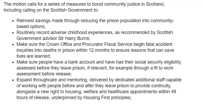 Scottish Liberal Democrat conference has today backed a series of new measures to boost community justice. Find out more here:  #sldconf  http://scotlibdems.org.uk/scot_lib_dems_back_radical_new_plans_for_community_justice…