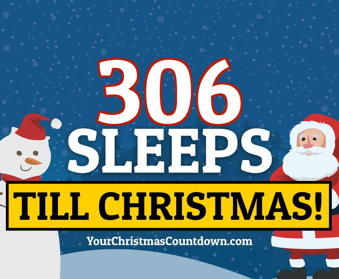 ONLY 305 MORE DAYS &amp; 306 SLEEPS UNTIL CHRISTMAS!            Visit our website to see the LIVE countdown   http:// YourChristmasCountdown.com  &nbsp;     https:// yourchristmascountdown.com / &nbsp;  <br>http://pic.twitter.com/OqgWzmFTXz