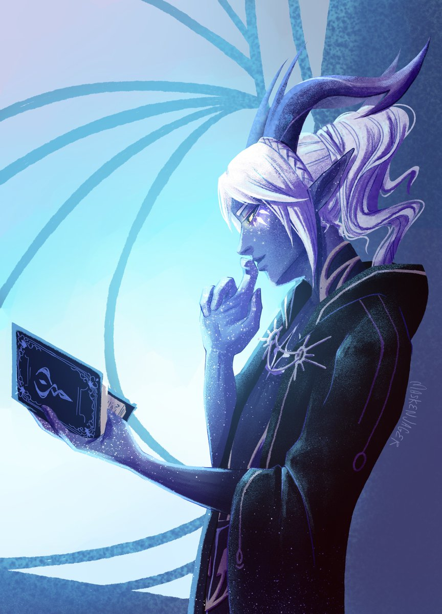 Aaravos with a ponytail rt if u agree #tdpart #thedragonprince #aaravos<br>http://pic.twitter.com/cpfGLCNbQf