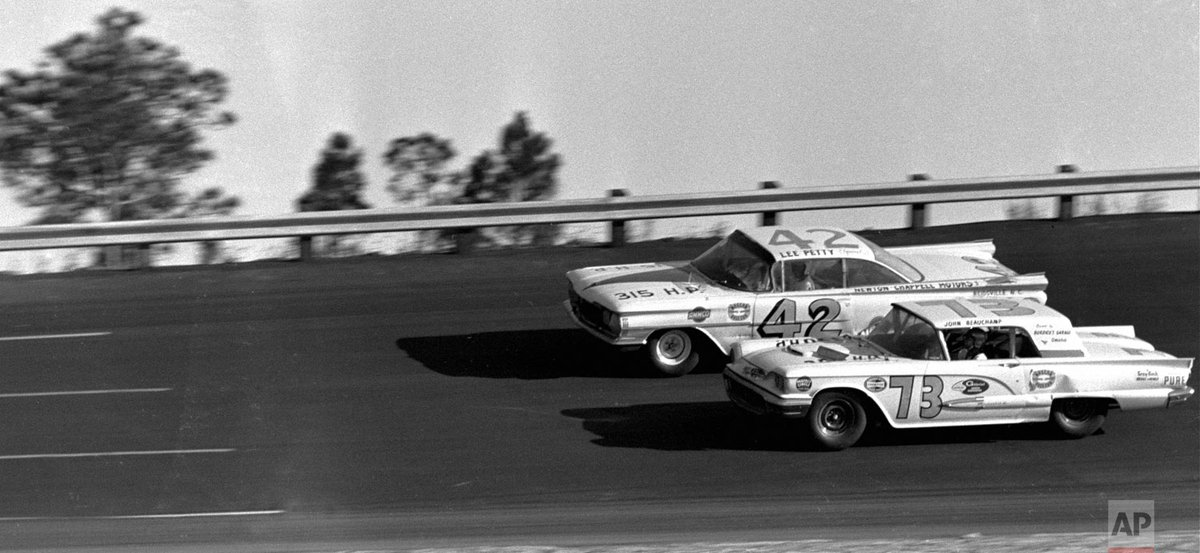 60 years ago today, the inaugural Daytona 500 race was held; although Johnny Beauchamp was initially declared the winner, the victory was later awarded to Lee Petty.