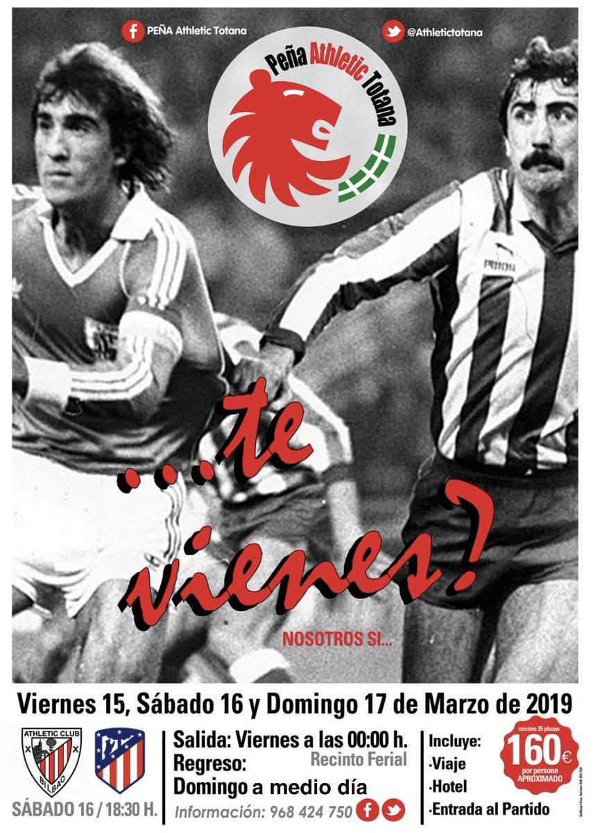Nos vamos pa' Bilbao!!! 👏🏻👏🏻👏🏻 Te vienes??? Plazas limitadas!!! @AthleticClub vs @Atleti #SanMames que no te lo cuenten!!!