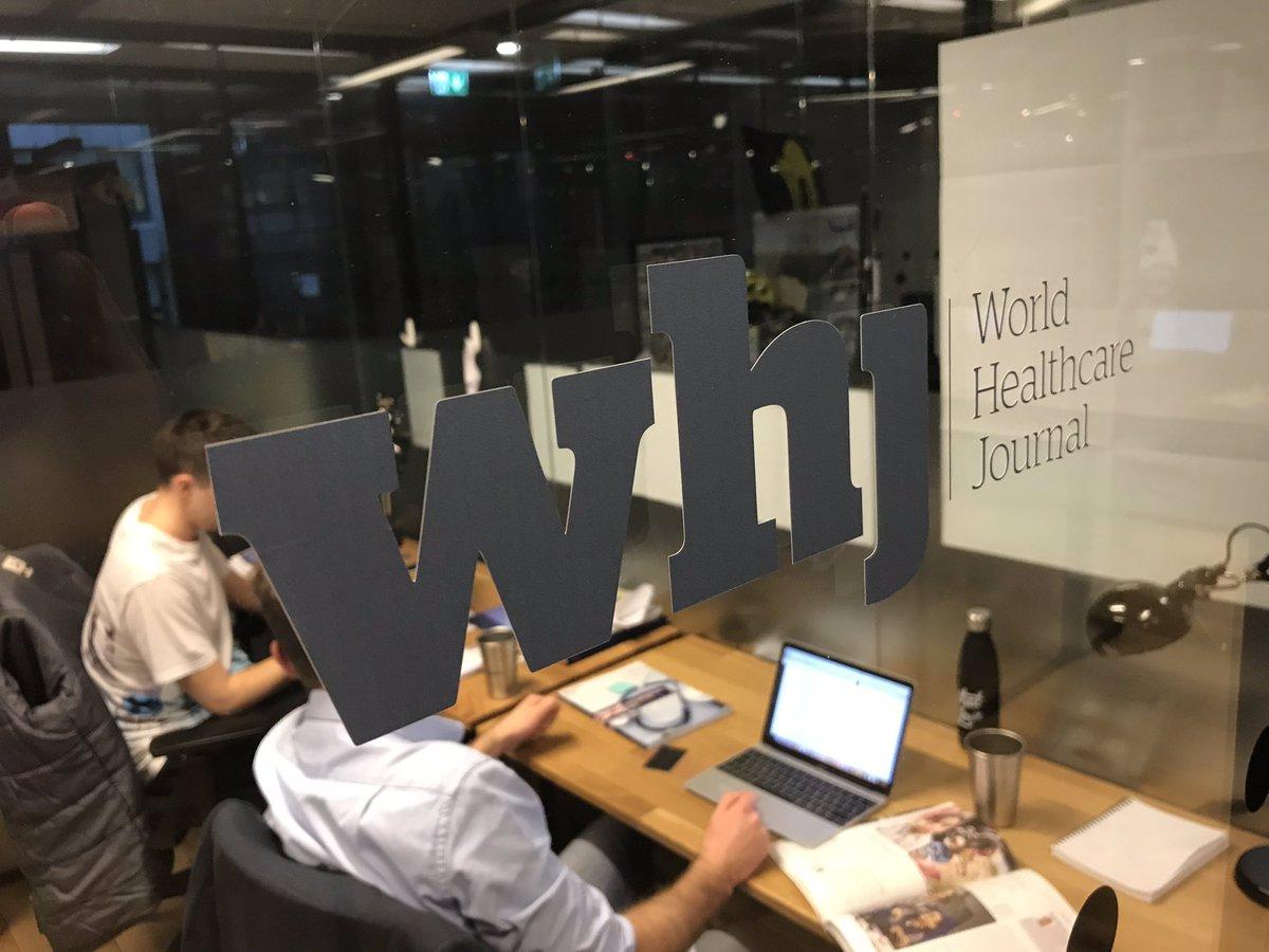 test Twitter Media - RT @benhowlettuk: Our new World Healthcare Journal  @WHJnews office is now complete! 📰 https://t.co/uGGEL5sMvQ