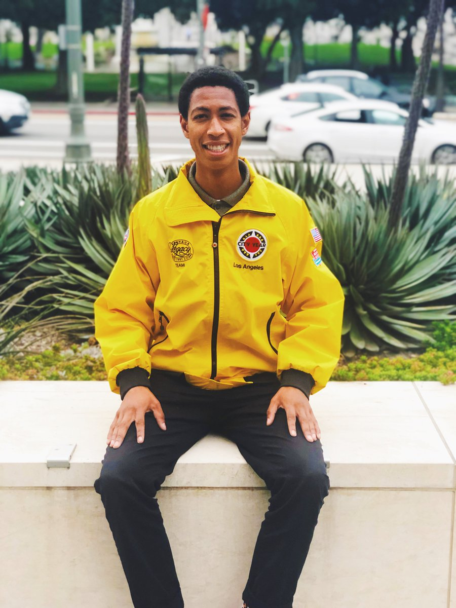 """""""An influential Black role model in my life is my cousin Terry. He pushed me beyond what I thought I was capable of. His mentorship inspired me to serve so I could encourage my students to do well in school.""""   -@CityYearLA @AmeriCorps member, Chuky Nwokedi #BlackHistoryMonth"""