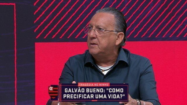 Galvão Bueno critica Flamengo em negociação com famílias de vítimas: 'Não se pode tratar assim'  https://t.co/CYCi5jAtHg