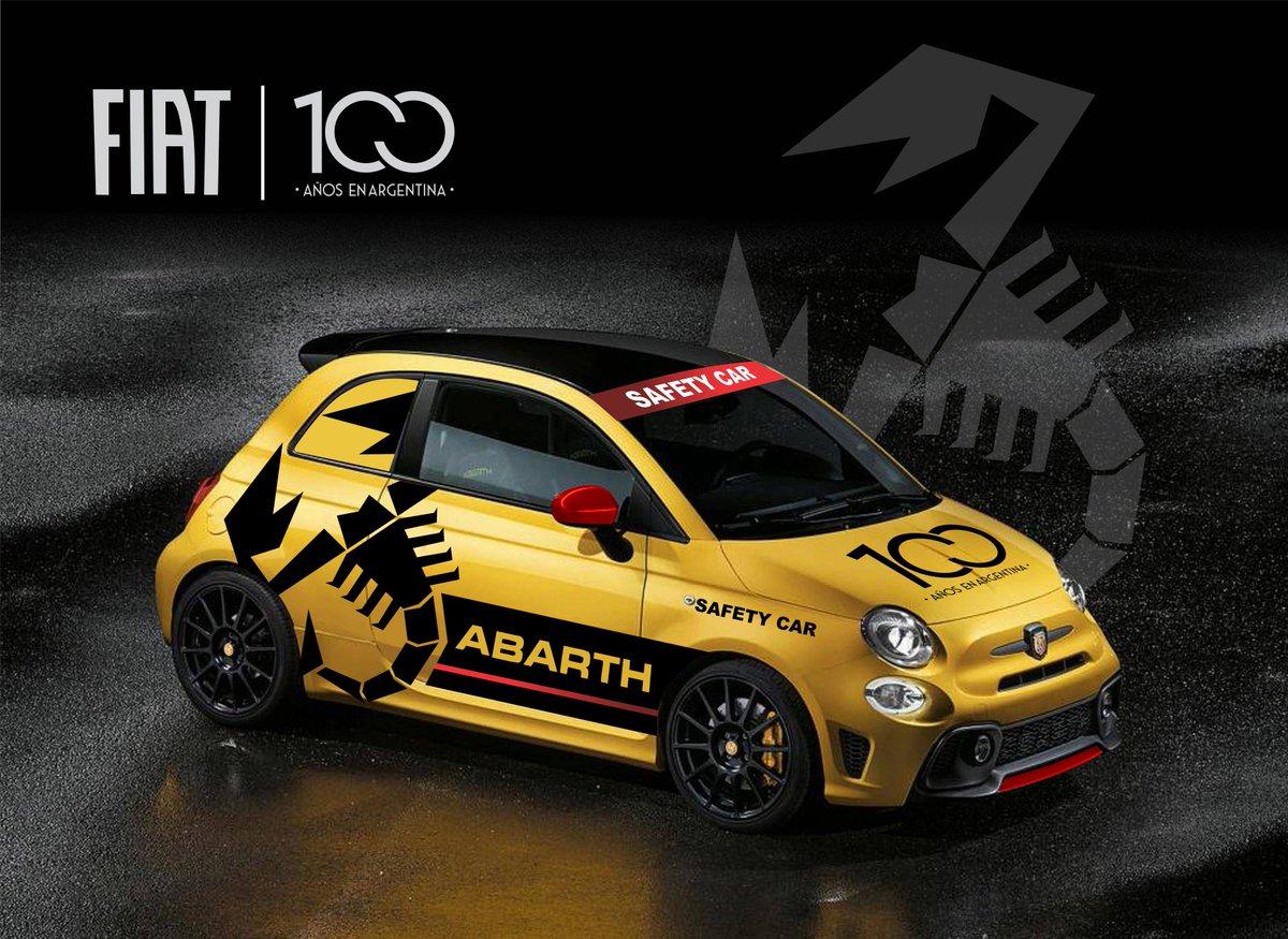 FIAT 500 Abarth, el vehículo de seguridad oficial del Turismo Nacional 🦂🏁 https://t.co/wEeg1VQizV