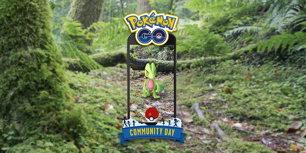 ✅ Time to mark your calendars, Trainers! March #PokemonGOCommunityDay, featuring Treecko, is coming soon! https://pokemongolive.com/events/community-day/ …