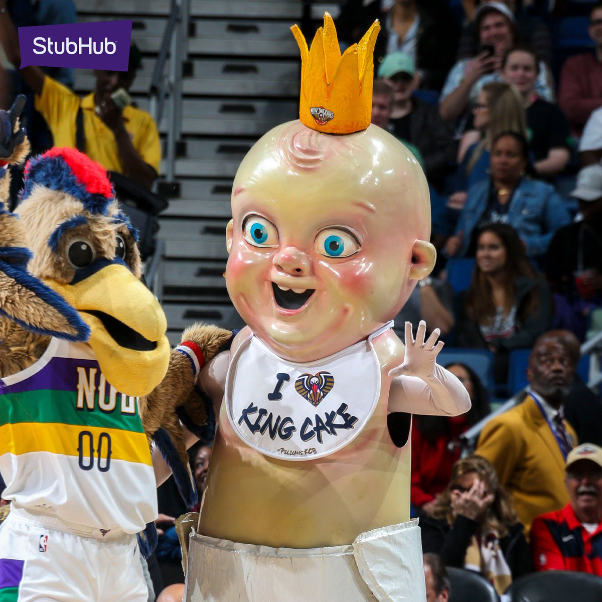 New Orleans Pelicans On Twitter Pierre King Cake Baby And