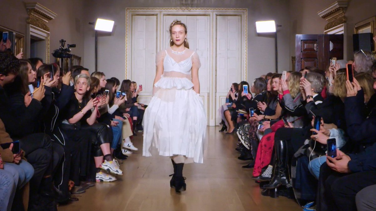 'It was very personal and very human:' @Simone_Rocha_ on her Fall 2019 show. https://t.co/XlU1OohQ71