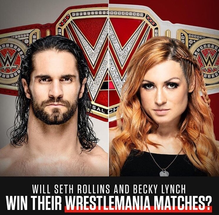 Which SUPERSTAR has earned the right to HEADLINE WrestleMania 35?  A. SETH ROLLINS  B. BECKY LYNCH  #WWE<br>http://pic.twitter.com/WbjYkpEDdD