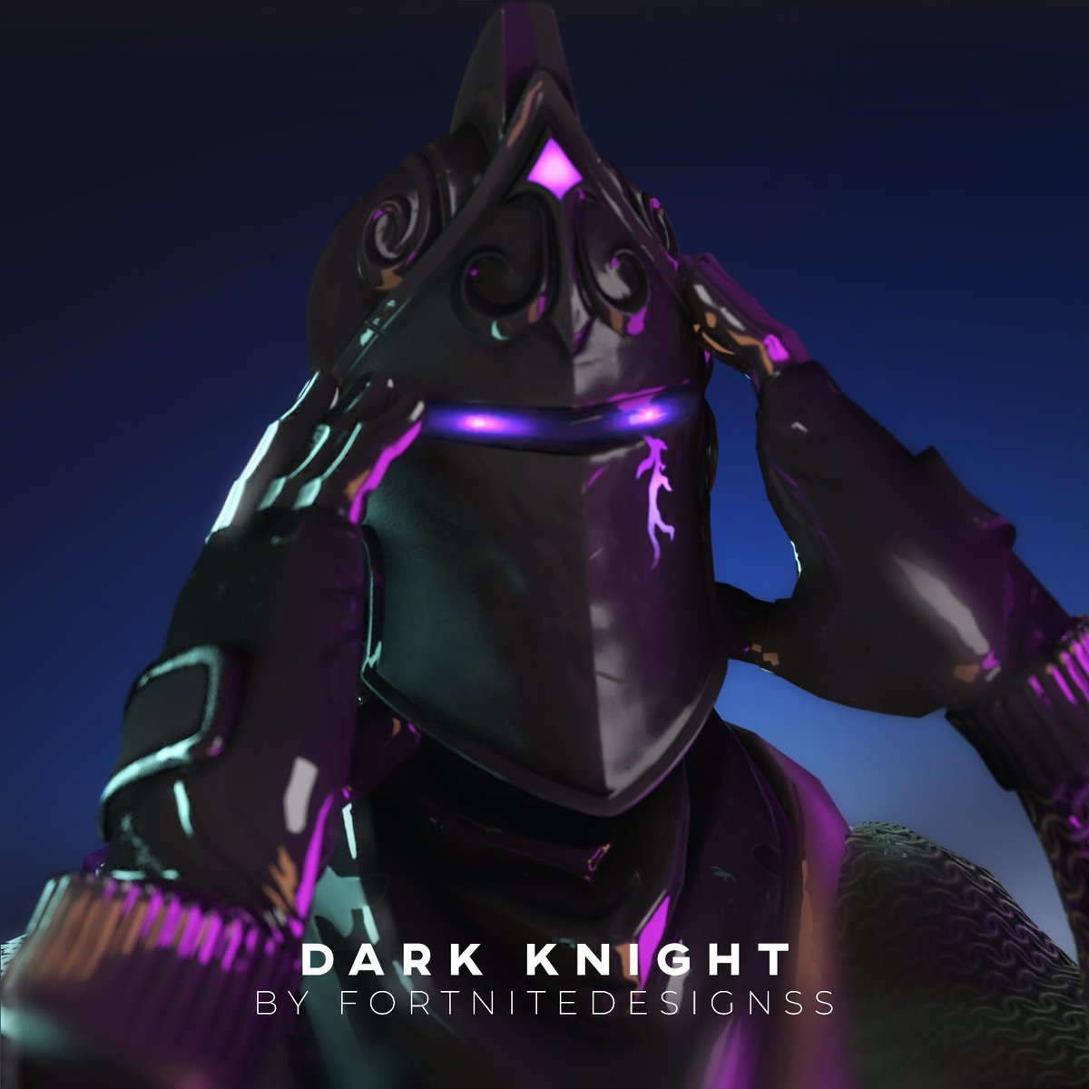 Download Fortnite Wallpaper Dark Knight