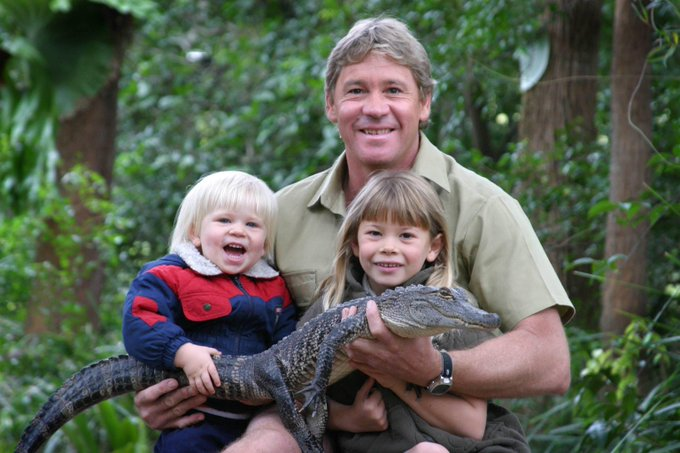 Steve Irwin would have been 57 years old today. Happy Birthday.