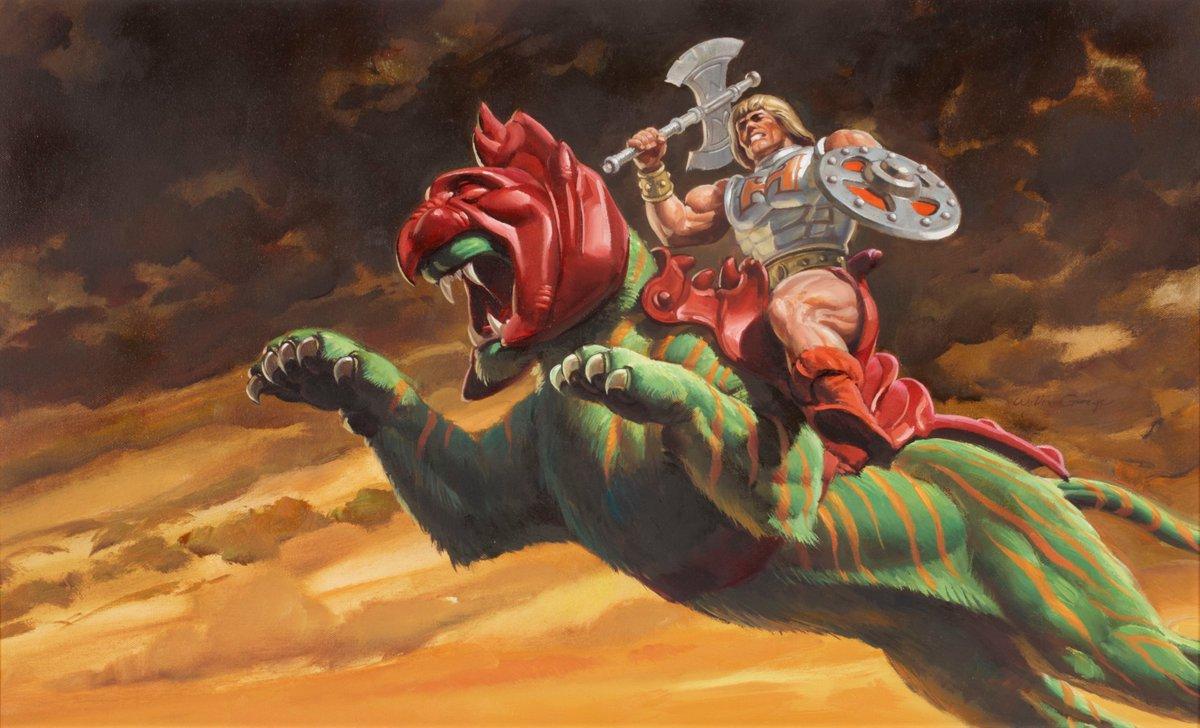Box Art From A-Z, Part Three: 1984    #BattleArmorHeMan #BattleArmorSkeletor #DragonWalker #Roton