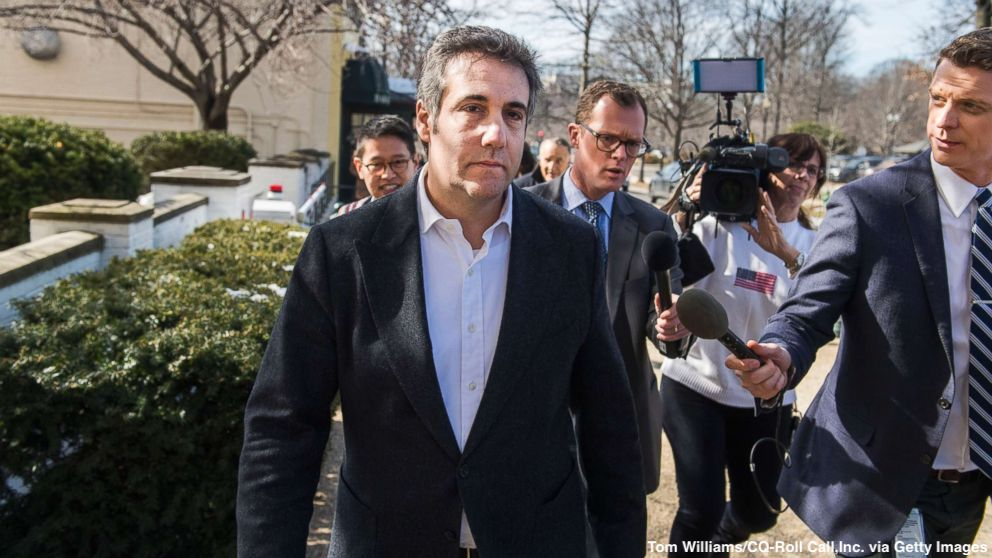 IRS agent charged in connection with the leaking of Michael Cohen's financial records to Michael Avenatti, media. https://abcn.ws/2E6JtUT