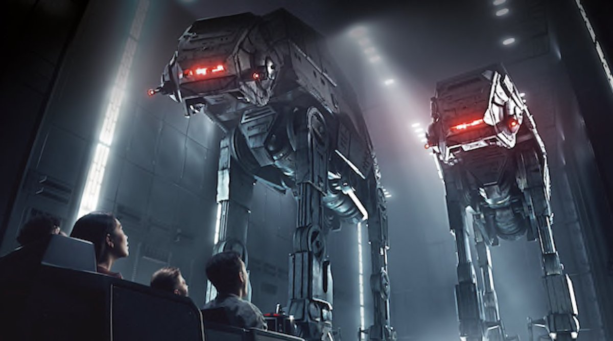 """BREAKING: Height Requirement Revealed for Rise of the Resistance, Ride Features """"A Swift Drop"""" for Guests in Star Wars - Galaxy's Edge   https:// wdwnt.news/19022201  &nbsp;  <br>http://pic.twitter.com/KLNIFyfFgP"""