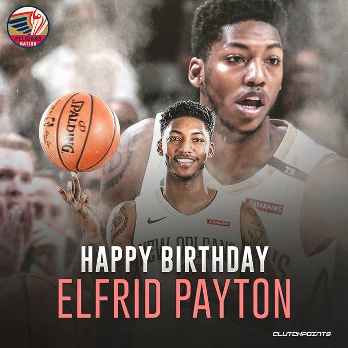Happy birthday Elfrid Payton!