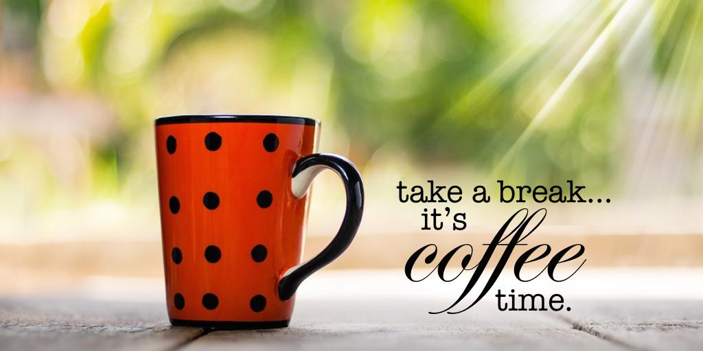 Your files and programs can wait… sip while the coffee is hot! Happy weekend!