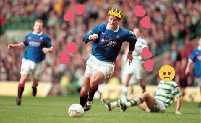 Happy 50th Birthday to Brian Laudrup