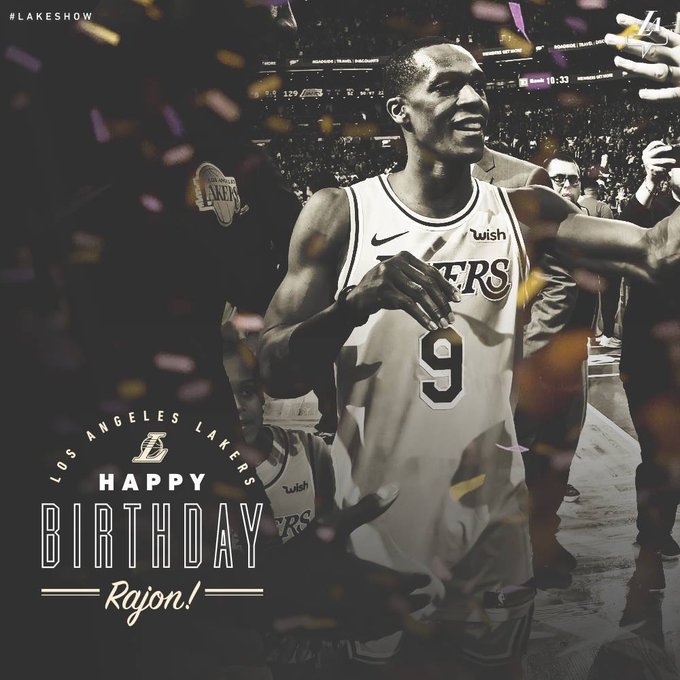 Join us in wishing Rajon Rondo a very happy birthday!!