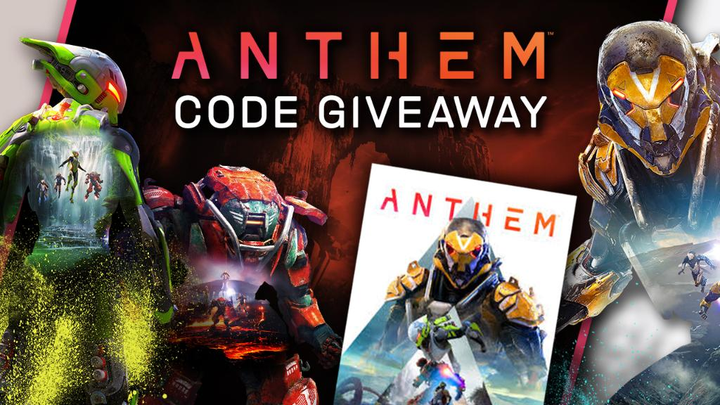 #GIVEAWAY: We're giving away 4 Xbox #AnthemGame codes for FREE.  RT and tag 3 friends with #EntryGameSpotGIVEAWAY no later than 2/22 10PM GMT for chance to win. No Purchase necessary. See rules http://l.gamespot.com/6015Ep3xU