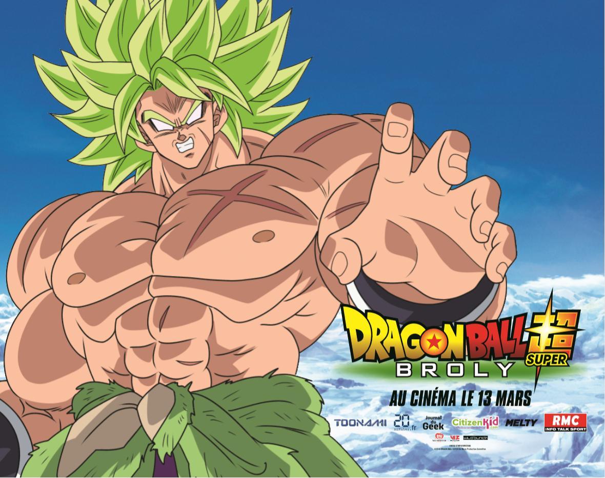 Voici les affiches du film Dragon Ball Super - Broly ! Oui, nous sommes bien dessus :D