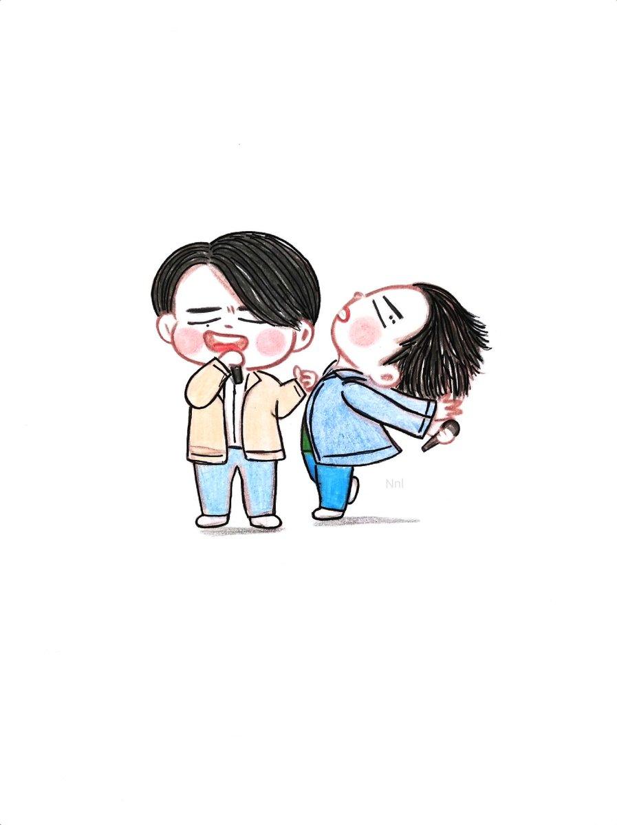 Jaebeomie &#39;s snap  @GOT7Official @GOTYJ_Ars_Vita #2jae #갓세븐 #Got7 #Jaebeom #Youngjae #got7fanart crd to original pic owner <br>http://pic.twitter.com/5kUOmIpegm