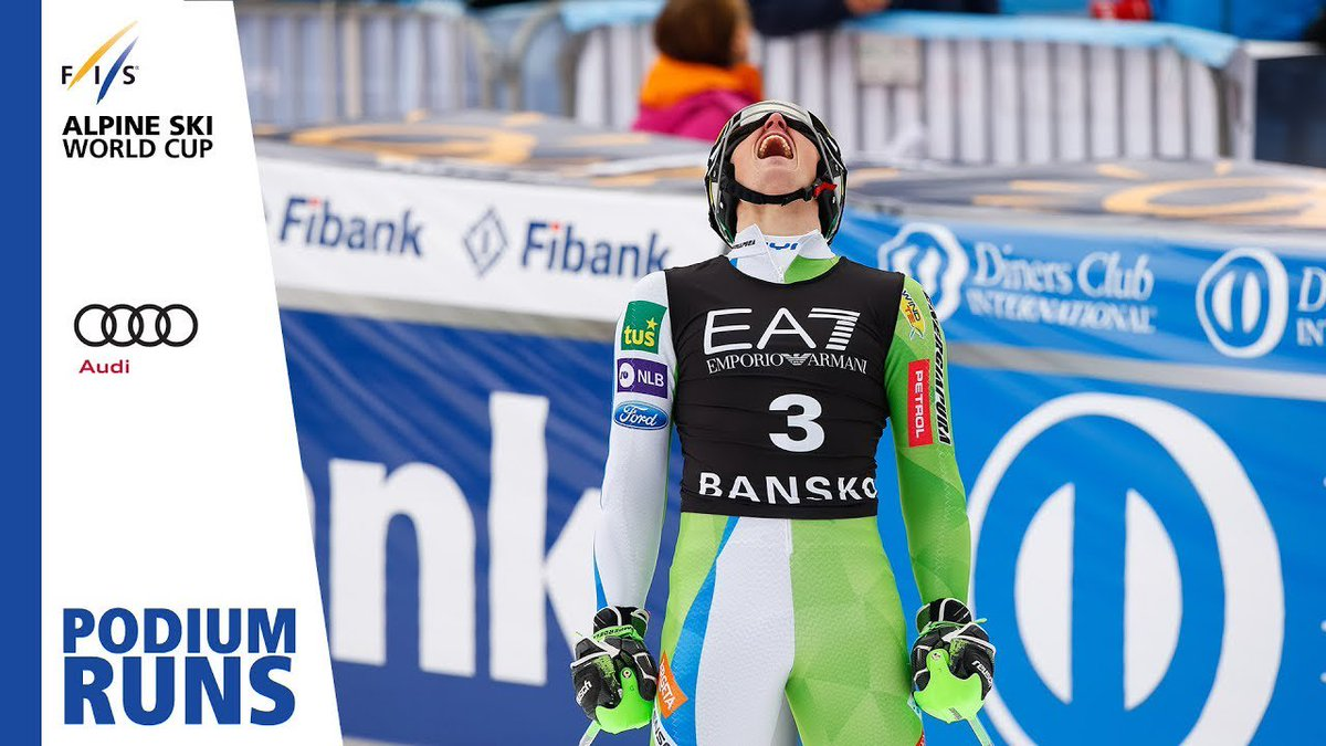 Stefan Hadalin | 3rd place | Men's Alpine Combined | Bansko | FIS Alpine http://dlvr.it/QzSVZ8