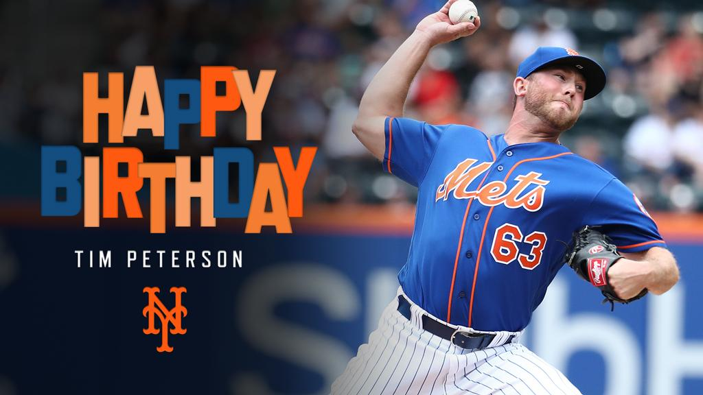 HBD, @timpeterson23! 🎈🎉