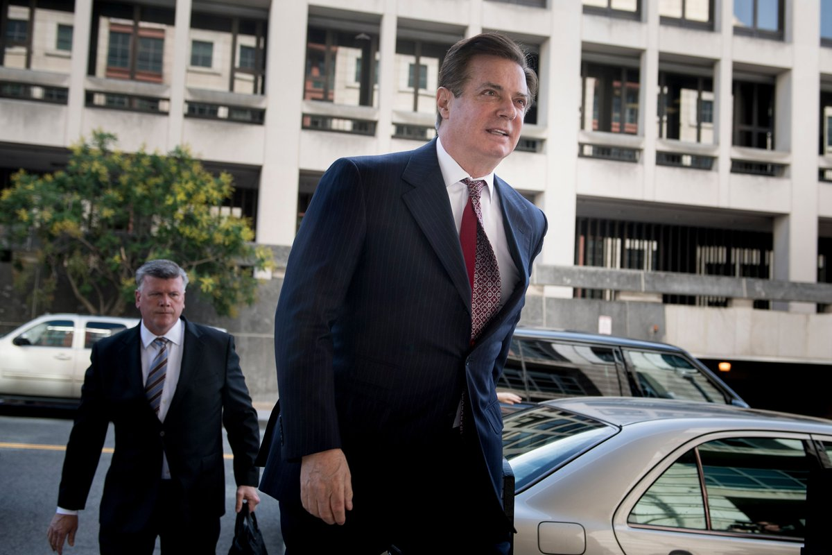 JUST IN: New York state prosecutors have put together a criminal case against Paul Manafort that they could file quickly if the former chairman of Trump's 2016 campaign receives a presidential pardon, sources say