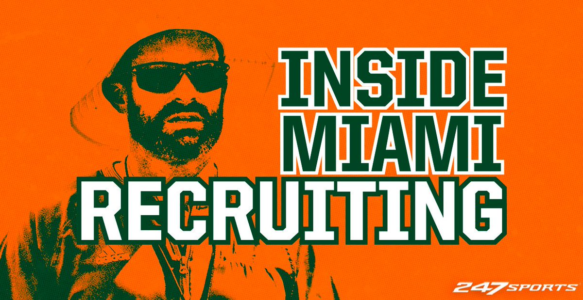VIP: A loaded insider with notes on the portal, weekend visitors and national targets for Miami. https://247sports.com/college/miami/Article/Inside-Miami-Recruiting-222-129368787/ …