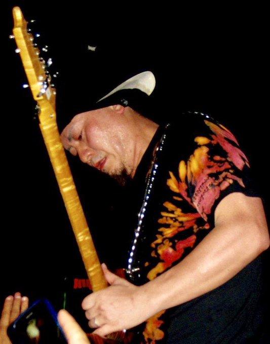 Happy Birthday Akira Takasaki-Loudness-pic by Rick Martinez