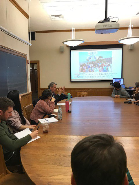 test Twitter Media - Spotted yesterday at @Yale is AIFL Executive Director, @FirestoneWayne, who met with the Peace and Dialogue Leadership Initiative in preparation for their trip to Israel https://t.co/qOE8eIxc6b