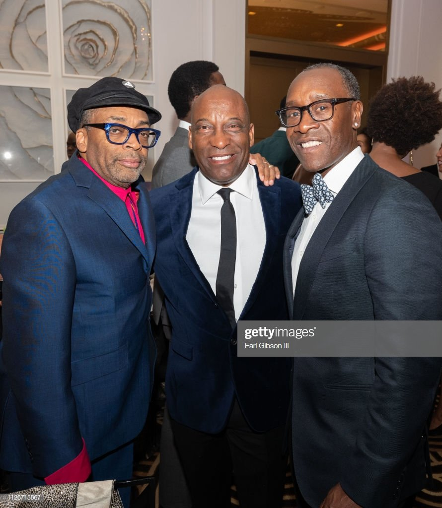 @DonCheadle Check out these legends #SpikeLee #JohnSingleton