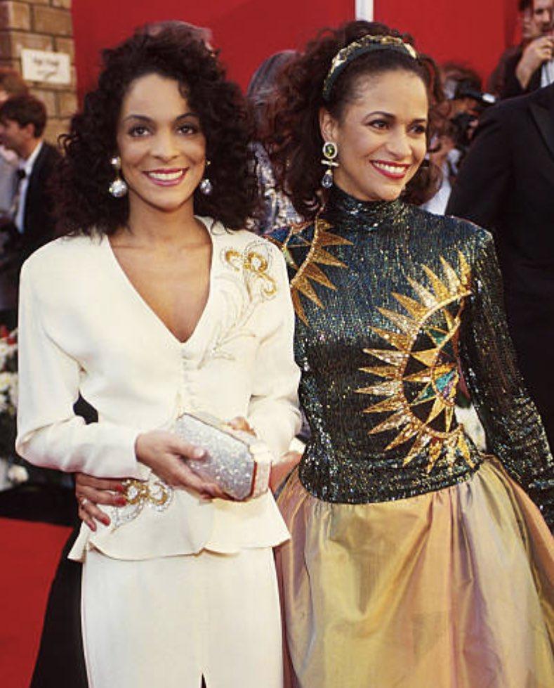 More Oscars memories... Me and @IAMJasmineGuy at the 63rd Annual Academy Awards in 1991.💋✨ #flashbackfriday #oscars2019