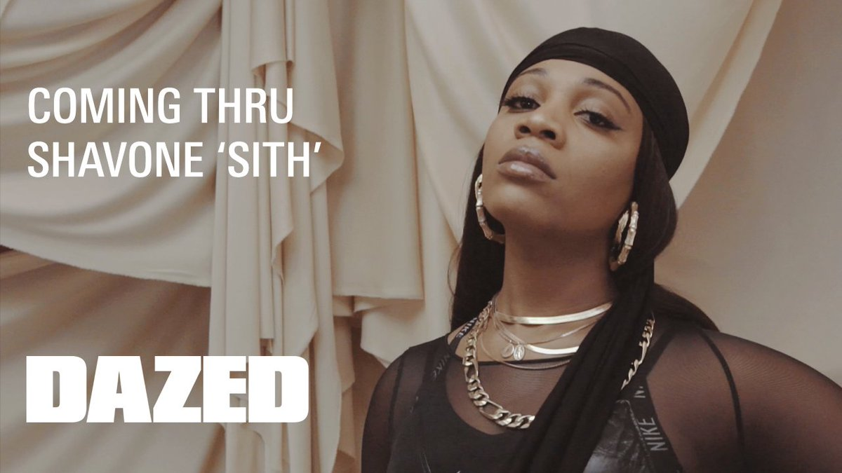 COMING THRU: We premiere @Shavone's new music video for 'SITH'.   Watch here: https://t.co/IYuONeR1xM