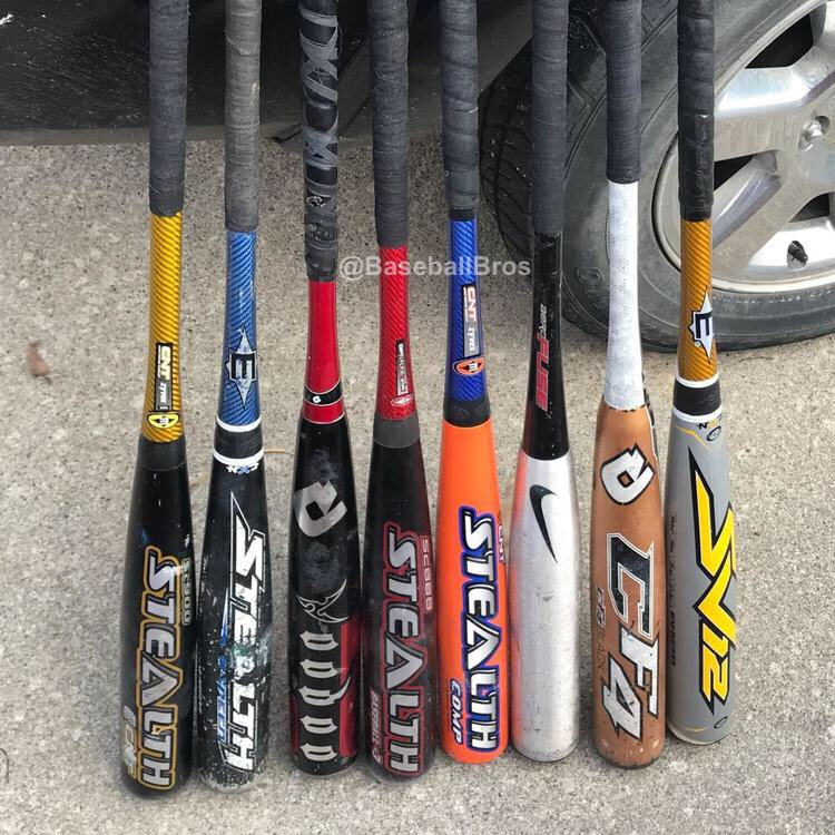 Your life is on the line... you get 1 swing to hit a home run.   Which bat are you picking?