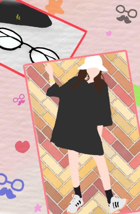 ハンナ On Twitter お題箱 お題箱 イラスト 韓国風の作品を描い