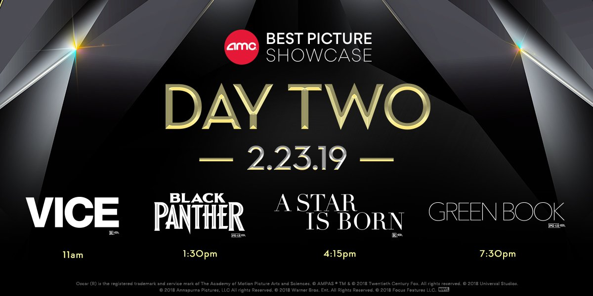 Amc Best Picture Showcase 2020.Amc Theatres On Twitter This Is Your Last Call To Get