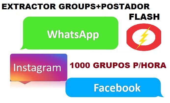 EXTRACTOR GROUPS+POSTADOR FLASH