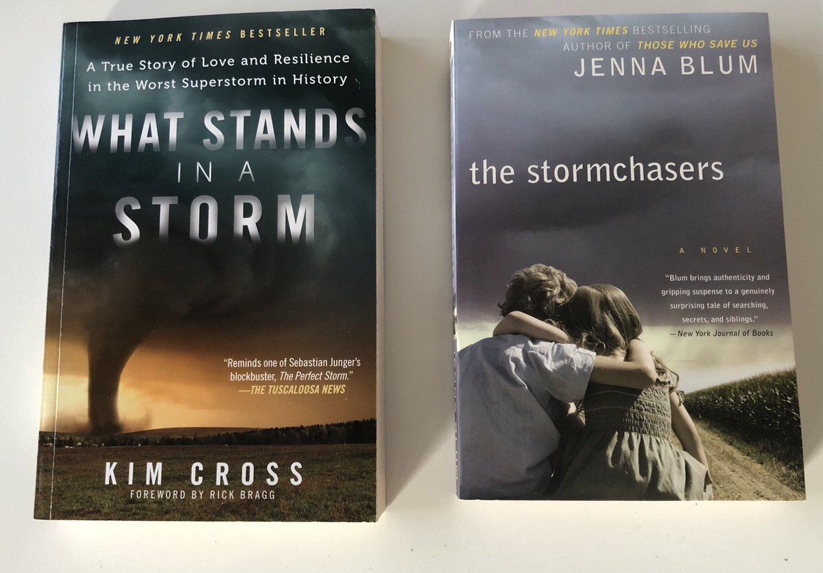Just received these two books. Really looking forward to read them. Thanks @tornado_talk for the recommendation! @Jenna_Blum