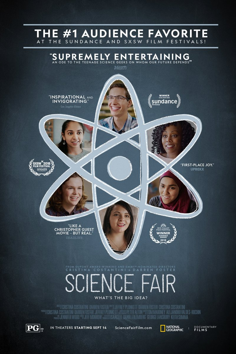 Join us for the inspiring <a target='_blank' href='http://twitter.com/NatGeo'>@NatGeo</a> documentary <a target='_blank' href='http://search.twitter.com/search?q=ScienceFair'><a target='_blank' href='https://twitter.com/hashtag/ScienceFair?src=hash'>#ScienceFair</a></a> in the <a target='_blank' href='http://twitter.com/GeneralsPride'>@GeneralsPride</a> (W-L) Auditorium on April 3 from 3:30-5:30 PM. Ts: SRN 20192413102 <a target='_blank' href='https://t.co/J4QaqTy97r'>https://t.co/J4QaqTy97r</a> <a target='_blank' href='https://t.co/7CuJtWerQ8'>https://t.co/7CuJtWerQ8</a>